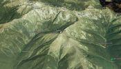 Day 3 - 3D vizualizacia (Koliba pod Pustým - Žiarska chata) <br/> (prevzate z Google Earth)
