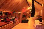 Žiarska chata - nocľah na povale chaty - pre nás úplný luxus.
