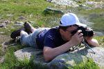 Mato - Ďalší pán fotograf - sústredenie.